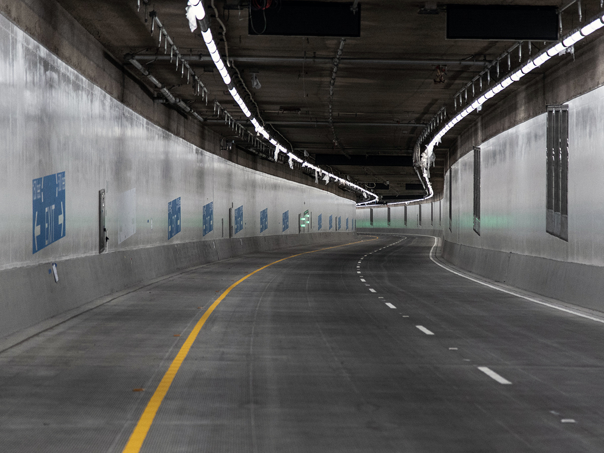 SR 99 tunnel