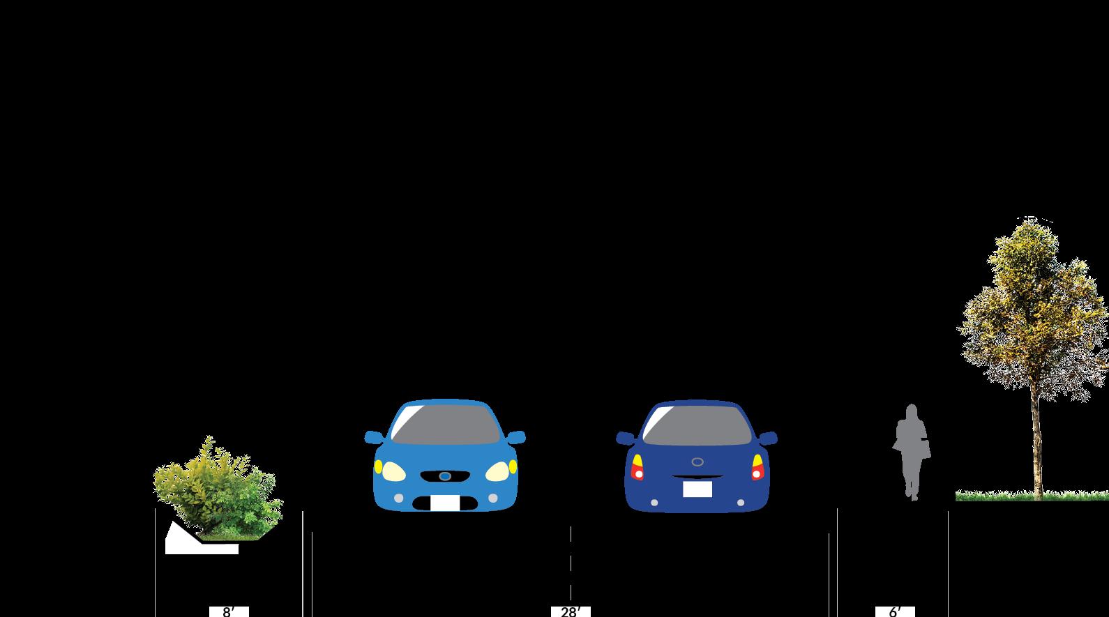 南208街(South 208th Street)和南204街(South 204th Street)将通过新的人行道, 路缘和地沟以及街道树木得到改善。